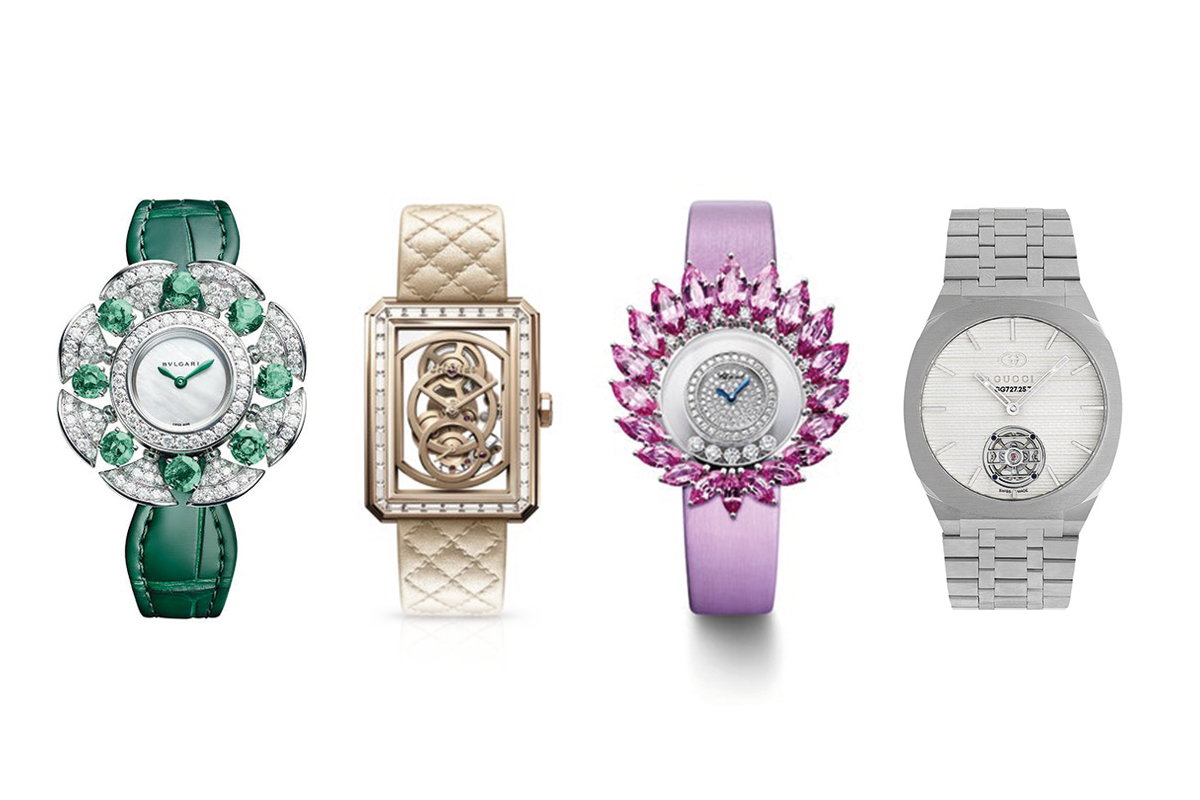 The world of watches details the new season trends