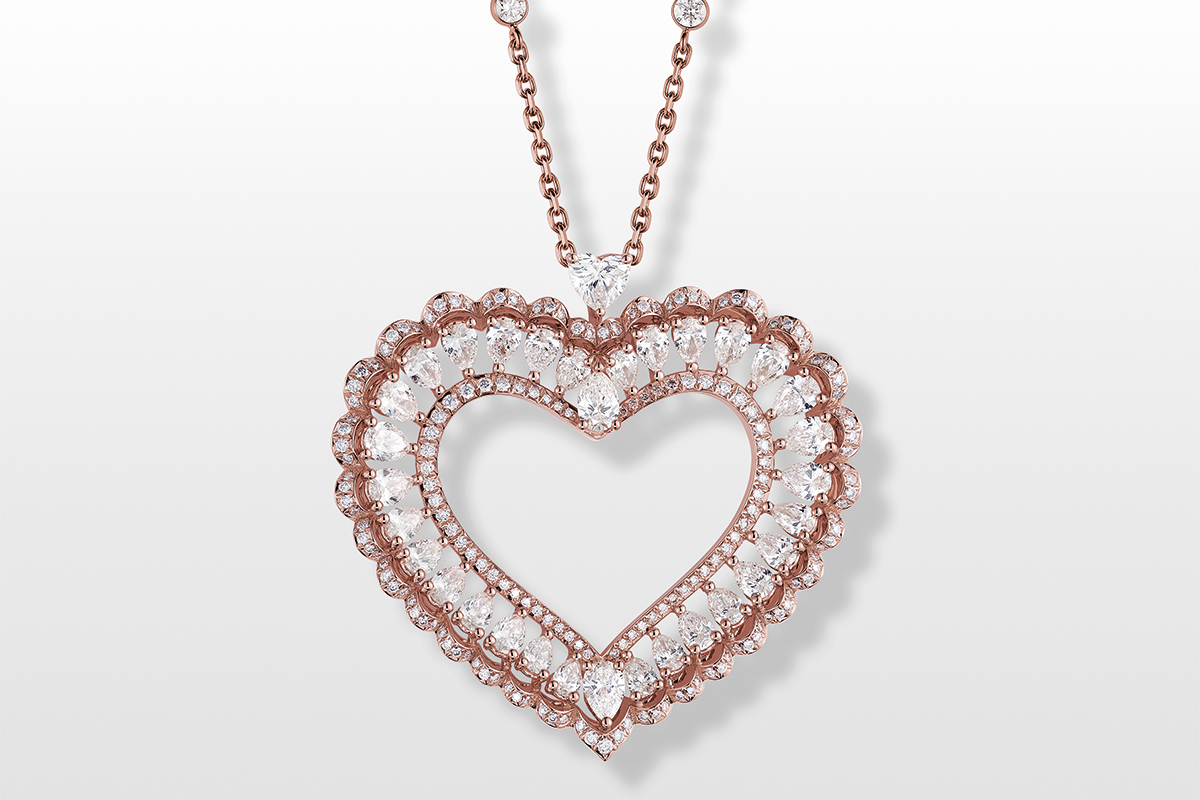 Jewels for Valentine's Day: Every shape of love